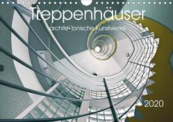 Treppenhäuser architektonische Kunstwerke (Wandkalender 2020 DIN A4 quer) von Will,  Thomas