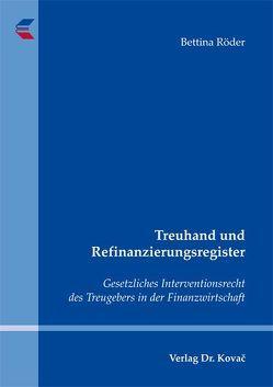 Treuhand und Refinanzierungsregister von Röder,  Bettina