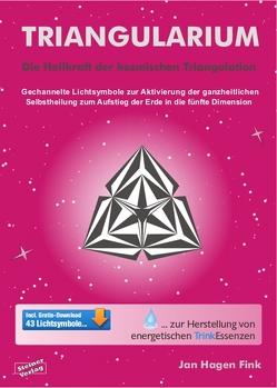 Triangularium. Die Heilkraft der kosmischen Triangulation. Gechannelte Lichtsymbole zur Aktivierung der ganzheitlichen Selbstheilung zum Aufstieg der Erde in die fünfte Dimension von Fink,  Jan Hagen