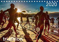 TRIATHLON 2020 (Tischkalender 2020 DIN A5 quer) von Kutsche,  Ingo