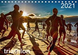 TRIATHLON 2021 (Tischkalender 2021 DIN A5 quer) von Kutsche,  Ingo