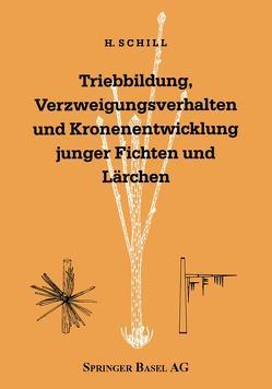 Triebbildung, Verzweigungsverhalten und Kronenentwicklung junger Fichten und Lärchen von Schill,  Harald, Schütt,  Peter