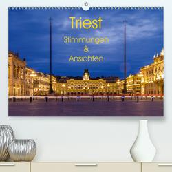 Triest – Stimmungen und Ansichten (Premium, hochwertiger DIN A2 Wandkalender 2021, Kunstdruck in Hochglanz) von Caccia,  Enrico