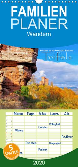 Trifels – Wanderung auf dem Annweilerer Burgenweg – Familienplaner hoch (Wandkalender 2020 , 21 cm x 45 cm, hoch) von LianeM