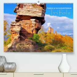 Trifels – Wanderung auf dem Annweilerer Burgenweg (Premium, hochwertiger DIN A2 Wandkalender 2020, Kunstdruck in Hochglanz) von LianeM