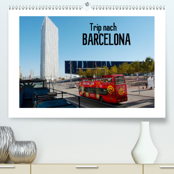 Trip nach Barcelona (Premium, hochwertiger DIN A2 Wandkalender 2021, Kunstdruck in Hochglanz) von Kruse,  Gisela