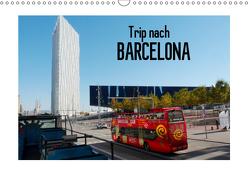 Trip nach Barcelona (Wandkalender 2019 DIN A3 quer) von Kruse,  Gisela