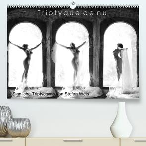 Triptyque de nu – Sinnliche Tryptichons (Premium, hochwertiger DIN A2 Wandkalender 2020, Kunstdruck in Hochglanz) von Weis,  Stefan