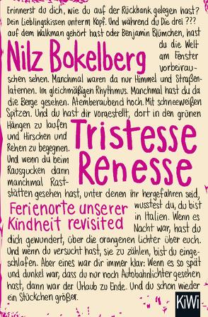 Tristesse Renesse von Bokelberg,  Nilz
