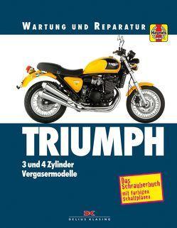 Triumph 3- und 4-Zylinder von Coombs,  Matthew, Cox,  Penny