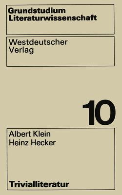 Trivialliteratur von Klein,  Albert
