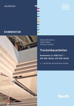 Trockenbauarbeiten von Bramann,  Helmut, Mänz,  Volker, Schmid,  Thomas
