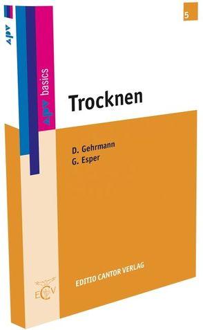 Trocknen von Esper,  Günter, Gehrmann,  Dieter