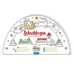 Trötsch Bastelbuch Schwibbogen Mal- und Bastelbuch von Trötsch Verlag GmbH & Co. KG