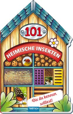 Trötsch Buch in Hausform 101 Heimische Insekten von A bis Z, die du kennen solltest von Trötsch Verlag GmbH & Co. KG