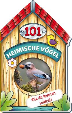 Trötsch Buch in Hausform 101 Heimische Vögel von A bis Z, die du kennen solltest von Trötsch Verlag GmbH & Co. KG
