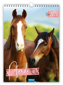 Trötsch Classickalender Pferde 2022