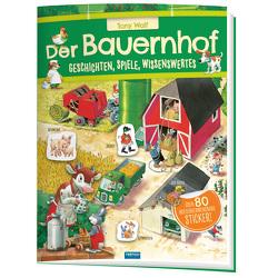 Trötsch Der Bauernhof Geschichten Spiele Wissenswertes Stickerbuch von Trötsch Verlag GmbH & Co. KG