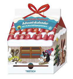 Trötsch Der kleine Maulwurf Adventskalender Haus mit 24 Minibüchern von Trötsch Verlag GmbH & Co. KG