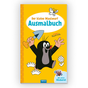Trötsch Der kleine Maulwurf Ausmalbuch mit Stickern von Trötsch Verlag