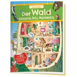 Trötsch Der Wald Geschichten Spiele Wissenswertes Stickerbuch von Trötsch Verlag GmbH & Co. KG