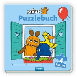 Trötsch Die Maus Puzzlebuch von Trötsch Verlag