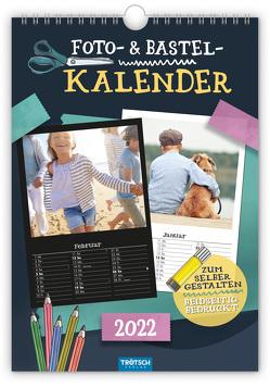 Trötsch Foto- und Bastelkalender A4 2022