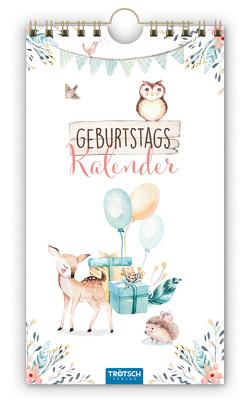 Trötsch Geburtstagskalender Waldfreunde