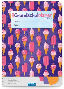 """Trötsch Grundschulplaner """"Ice Cream"""" 2020/2021"""