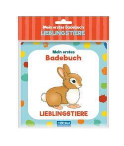 Trötsch Mein erstes Badebuch Lieblingstiere von Trötsch Verlag GmbH & Co. KG