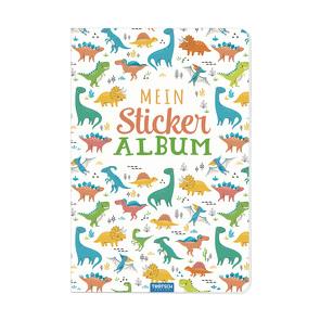 Trötsch Mein Stickeralbum Dino Stickerbuch von Trötsch Verlag GmbH & Co. KG