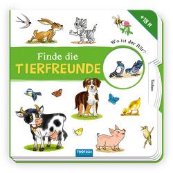 Trötsch Pappbilderbuch Finde die Tierfreunde von Trötsch Verlag GmbH & Co. KG