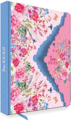 """Trötsch Schülerkalender """"Flower"""" 2020/2021"""