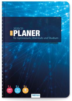 """Trötsch Schulplaner Gymnasialplaner """"Network"""" 2020/2021"""
