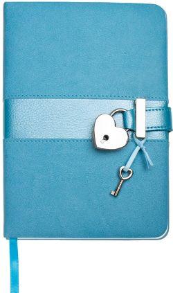 Trötsch Tagebuch Matt & Shiny Blau