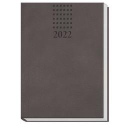 Trötsch Taschenkalender A6 Daily Anthrazit 2022
