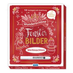 Trötsch Wunderschöne Fensterbilder mit Kreidemarker Mappe mit Vorlagen und Kreidemarker Weihnachten von Trötsch Verlag GmbH & Co. KG