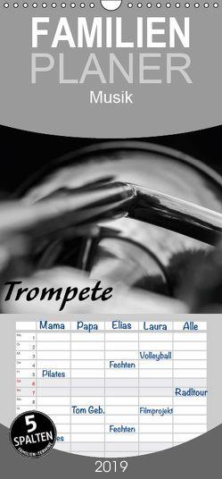 Trompete – Close up – Familienplaner hoch (Wandkalender 2019 , 21 cm x 45 cm, hoch) von Drafz,  Silvia