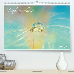 Tropfenzauberei 2021 (Premium, hochwertiger DIN A2 Wandkalender 2021, Kunstdruck in Hochglanz) von Kropf,  Anna