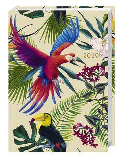 Tropical Birds Kalenderbuch A6 – Kalender 2019 von Heye