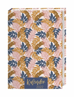 Tropical Leaves Kalenderbuch A5 Kalender 2022 von Heye