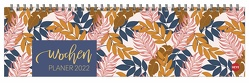Tropical Leaves Wochenquerplaner Kalender 2022 von Heye