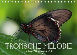 Tropische Melodie – Schmetterlinge Vol.2 (Tischkalender 2018 DIN A5 quer) von Photon (Veronika Verenin),  Vronja