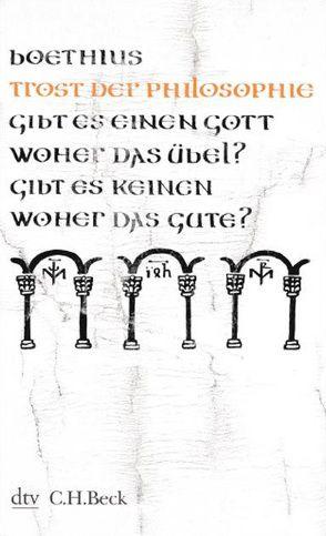 Trost der Philosophie von Boethius, Flasch,  Kurt, Gegenschatz,  Ernst, Gigon,  Olof