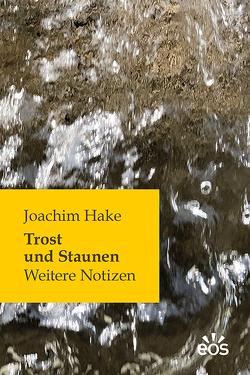 Trost und Staunen von Hake,  Joachim