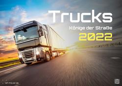 Trucks – Könige der Straße – LKW – 2022 – Kalender DIN A3