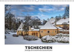 Tschechien – Streifzüge durch faszinierende Kulturlandschaften (Wandkalender 2018 DIN A3 quer) von Hallweger,  Christian