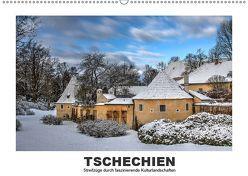 Tschechien – Streifzüge durch faszinierende Kulturlandschaften (Wandkalender 2019 DIN A2 quer) von Hallweger,  Christian
