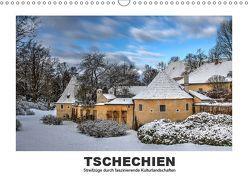 Tschechien – Streifzüge durch faszinierende Kulturlandschaften (Wandkalender 2019 DIN A3 quer) von Hallweger,  Christian