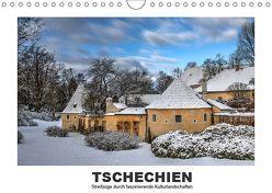 Tschechien – Streifzüge durch faszinierende Kulturlandschaften (Wandkalender 2019 DIN A4 quer) von Hallweger,  Christian
